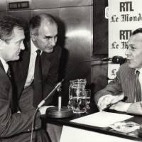 Avec  Philippe Labro